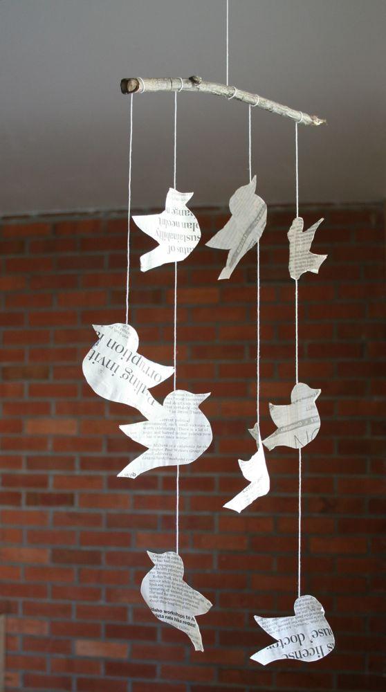 Bird mobile
