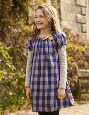 Mini boden bow trim dress
