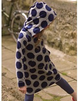 Mini boden hooded dress