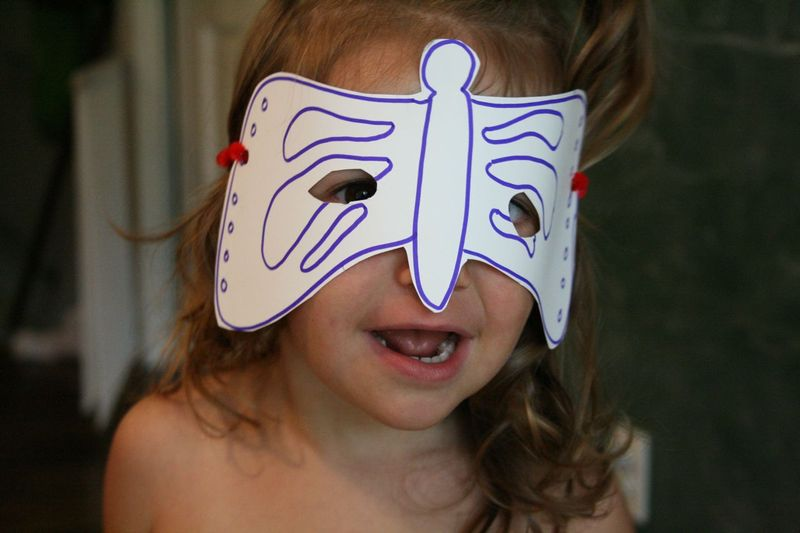 Butterfly mask 1