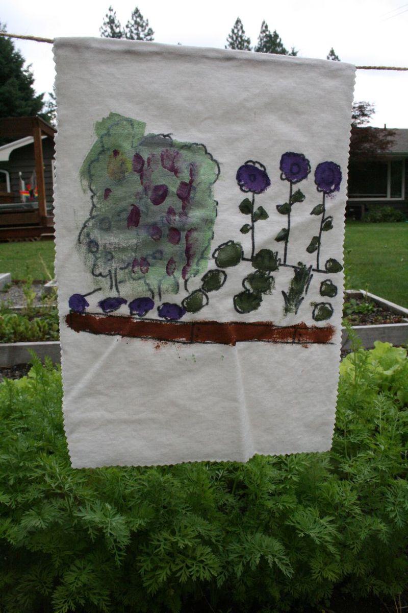 Garden banner garden 2