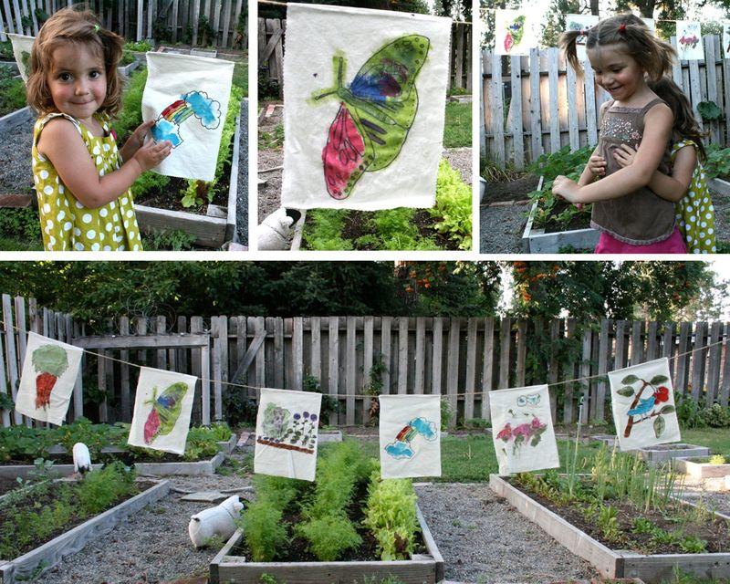 Garden banner craft