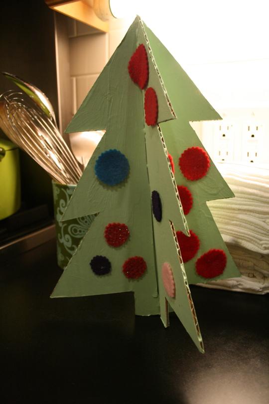 3-d christmas tree