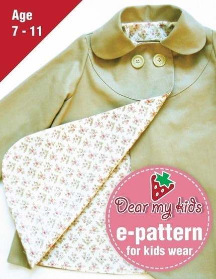 Peter pan coat dmk easy wear