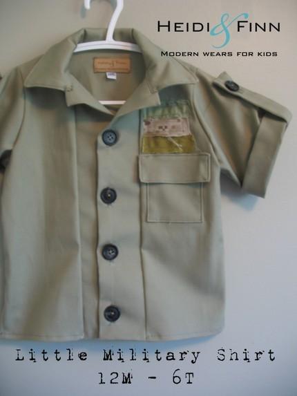 Military shirt heidi and finn
