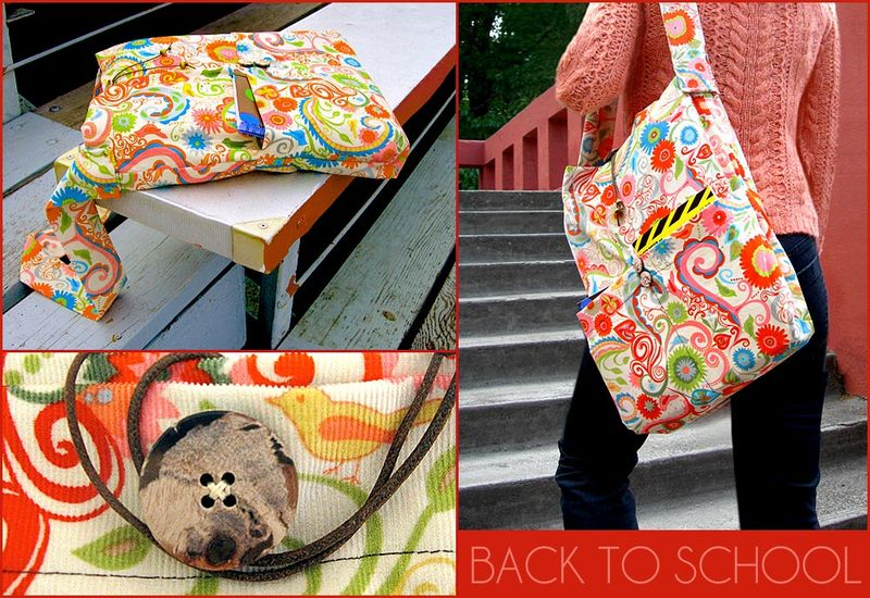 Book bag sew 4 home