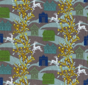 Folksy flannel moonlight