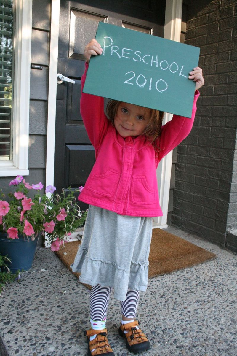 First day of school 4