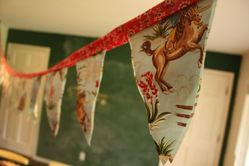 Pc horse party banner
