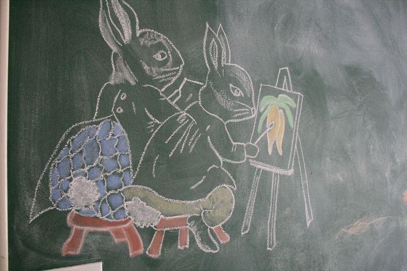 Bunny wall 3